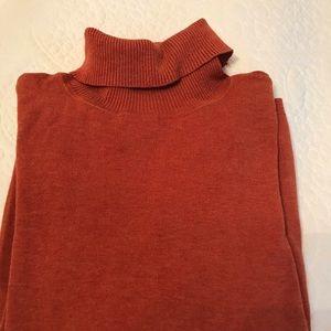 3 for $30: Chico's Burnt Orange Turtleneck Sweater